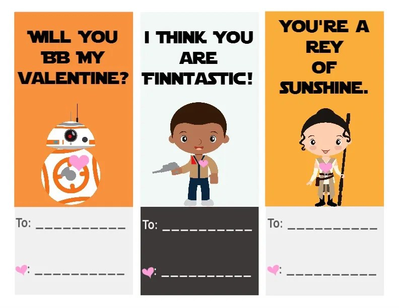 30 super cool printable Valentine\u0027s cards for the classroom