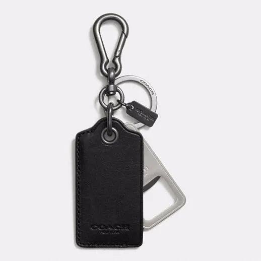 monogrammed bottle opener keychain