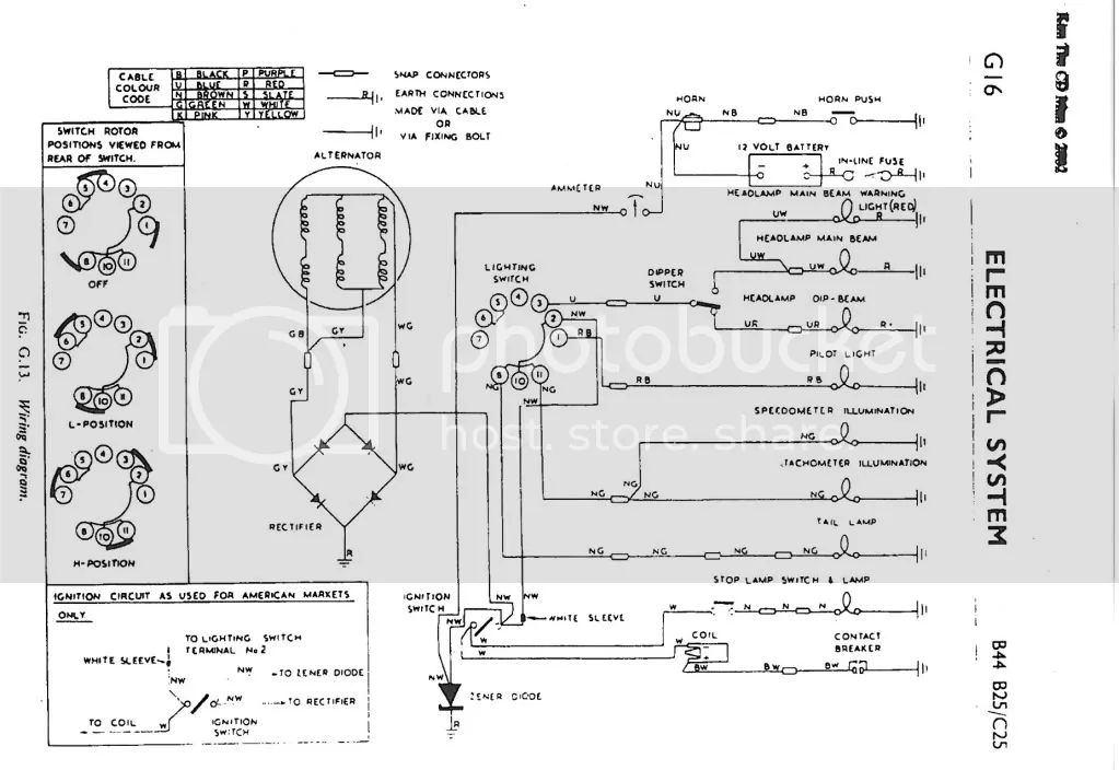 wiring diagram for 1980 triumph tr7