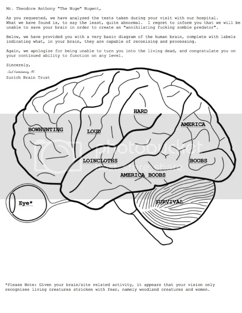 Free Coloring Pages Of Brain Printable Brain Coloring Page