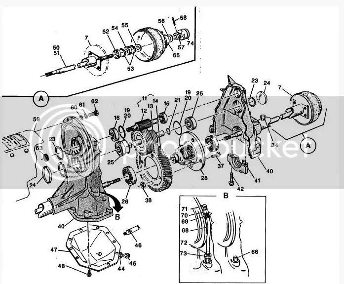 ezgo golf cart rear end diagram