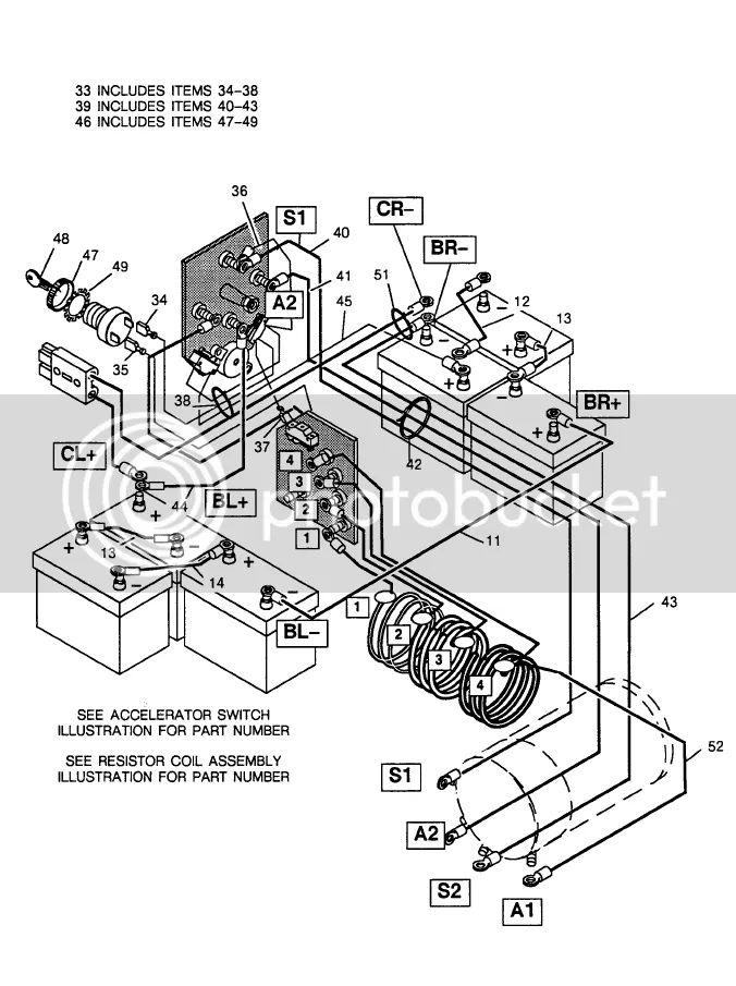 basic 36 volt wiring diagrams