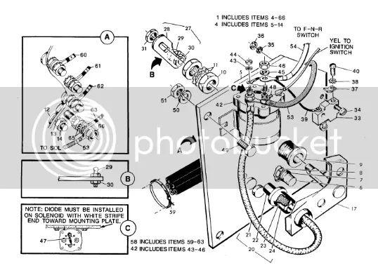 ez go series wiring diagram