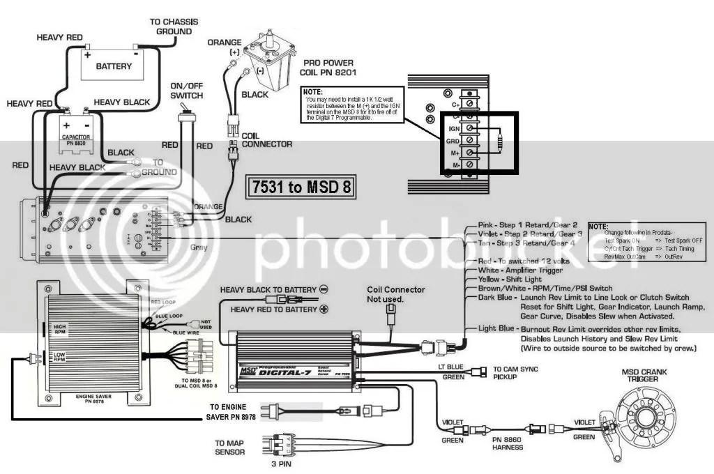 Msd 7531 Wiring Diagram Wiring Diagram