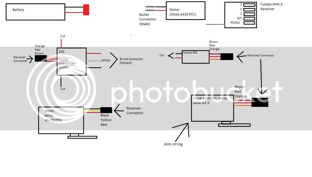 rc rock crawler wiring diagrams