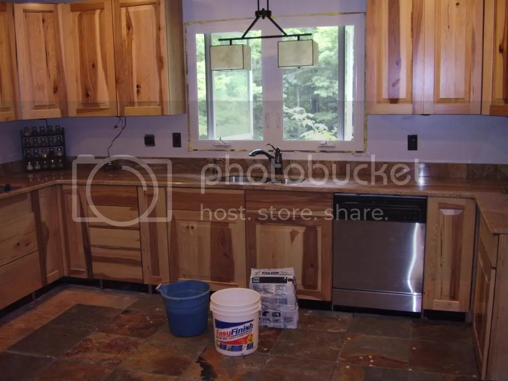 Copper Canyon Granite Countertops Calling It 75 Done Rustic Kitchen Pic Heavy