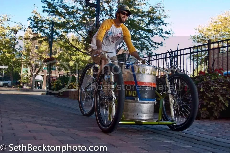 Bikes To Trikes Colorado This keg trike cargo bike