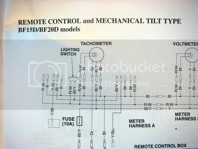 Nissan Outboard Tachometer Wiring Wiring Diagram