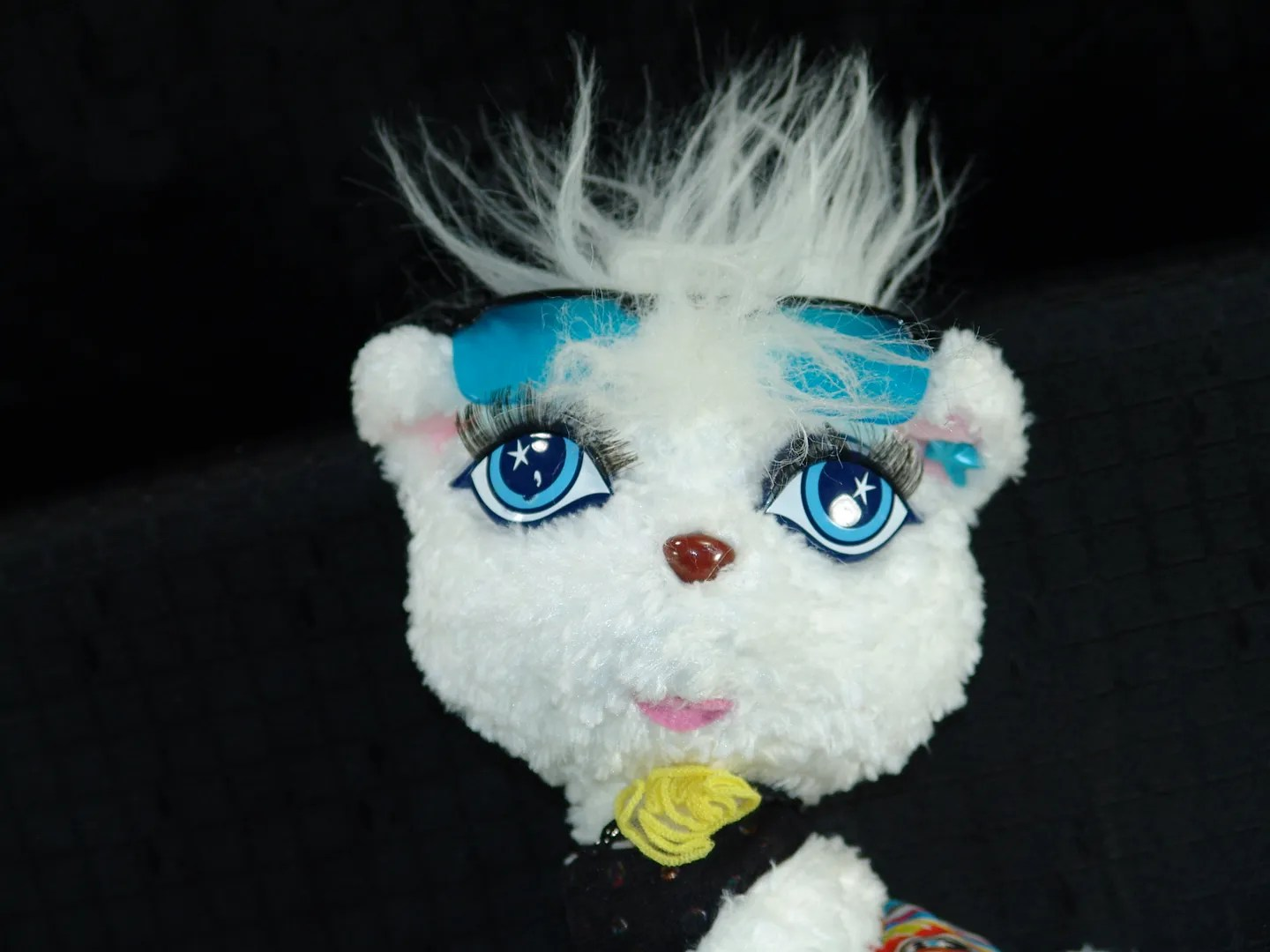 Cool Kitty Toys Mattel Barbie Plush Cool Blue Eyed White Kitty Cat Toy Ebay