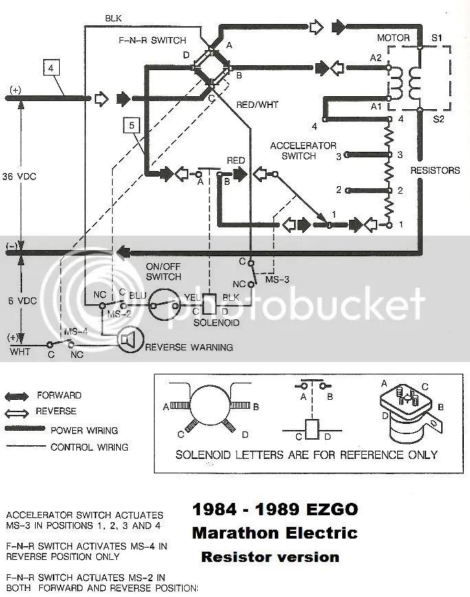 Ezgo 48 Volt Ez Go Solenoid Wiring Diagram Wiring Schematic Diagram