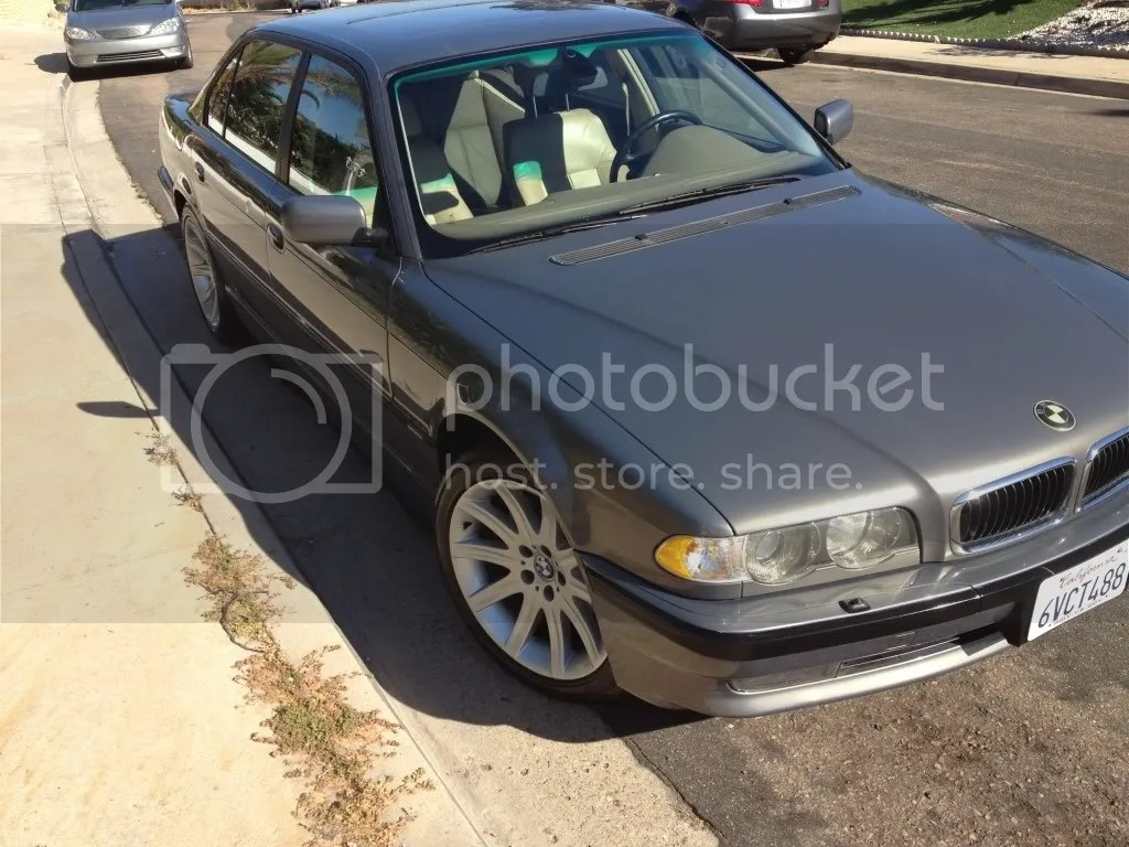 Anthrazit Metallic Bmw 2001 Bmw 740il Anthracite Metallic Low Miles In Socal