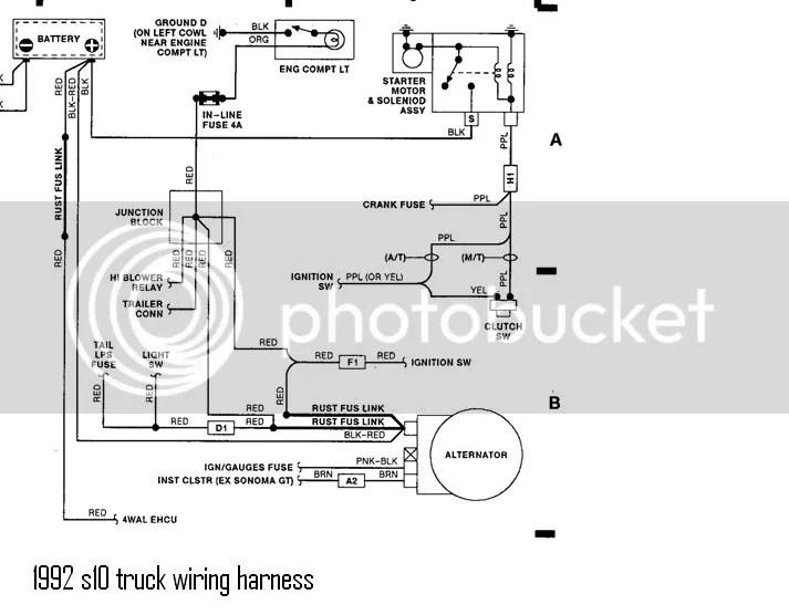 1988 Chevy Truck Alternator Wiring Wiring Diagram