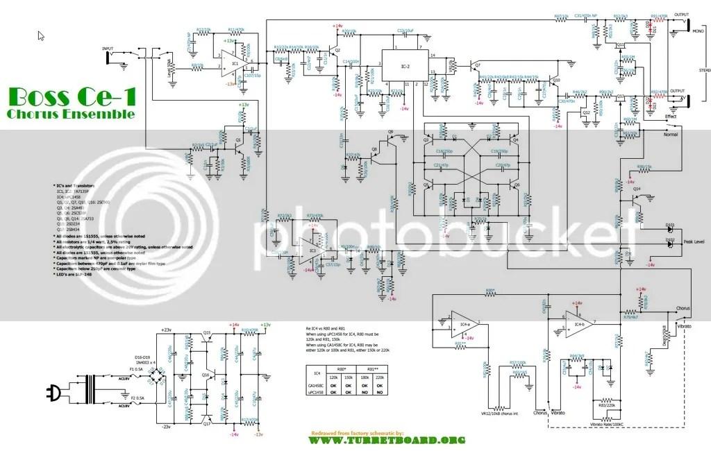 Boss Ce 2 Wiring Diagram - wiring diagram