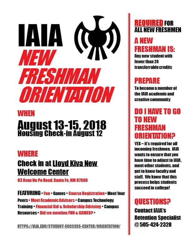 Orientation \u003e Institute of American Indian Arts (IAIA)