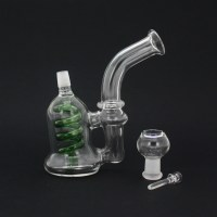 Concentrate Glass Water Pipe with Spiral Perc - IAI ...