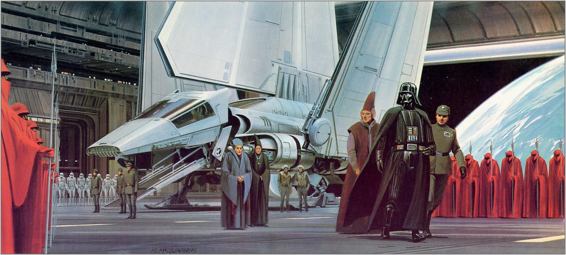 Libros Star Wars Pdf Star Wars The Art Of Ralph Angus Mcquarrie 100 Concept Art