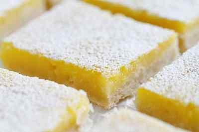 Lemon Bars {VIDEO} - i am baker