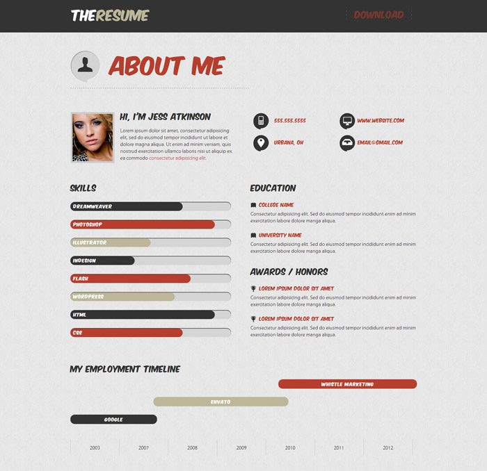 top website resumes top margin resumes online 20 top cv website template designs for you