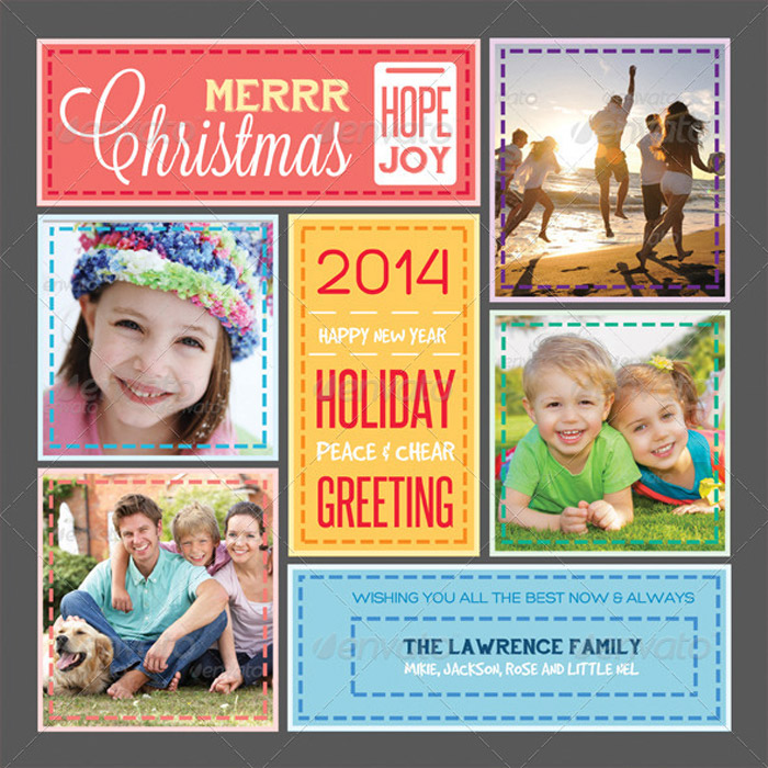 20 Best Printable Holiday Card Templates
