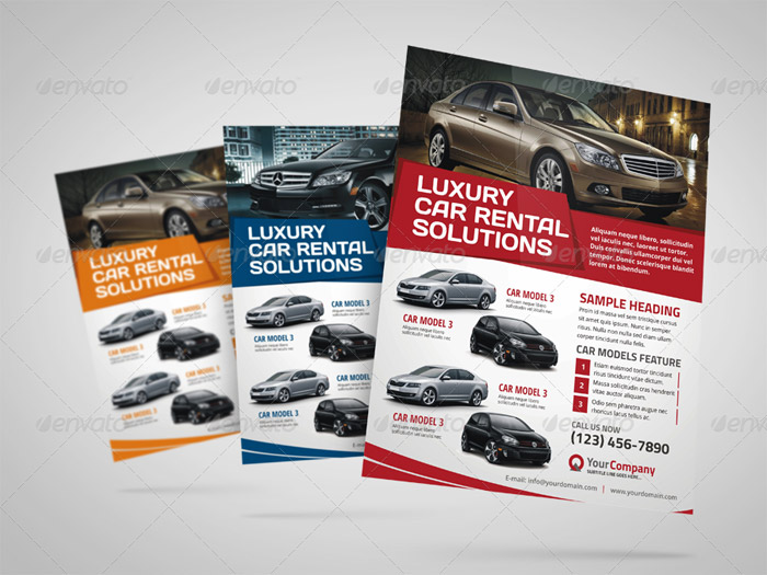 20 + Premium Car Flyer and Print Templates - car for sale flyer