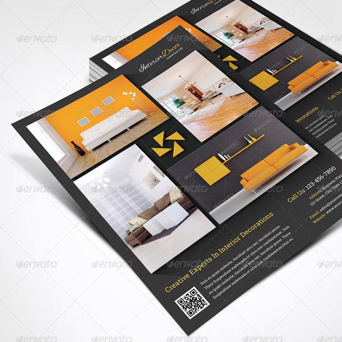20 + Interior Design Brochure and Print Templates - interior design flyers