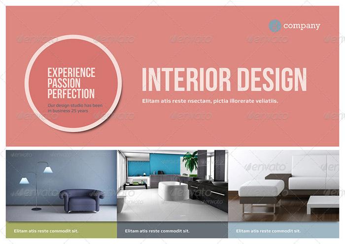 20 + Interior Design Brochure and Print Templates - interior design brochure template