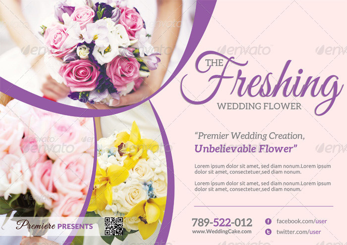 15 + Incomparable Wedding Flyer Templates - wedding flyer