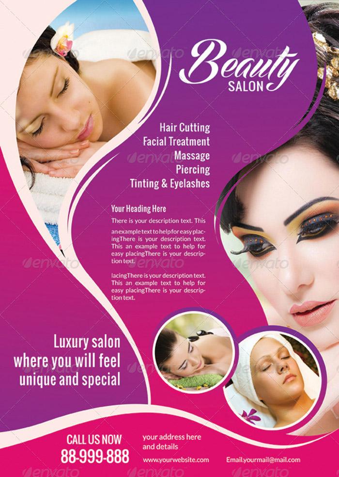Beauty Salon Flyer Templates Free Psd Save Template