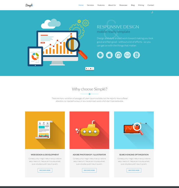 15 + Beautiful Technology Landing Page Templates for Marketing