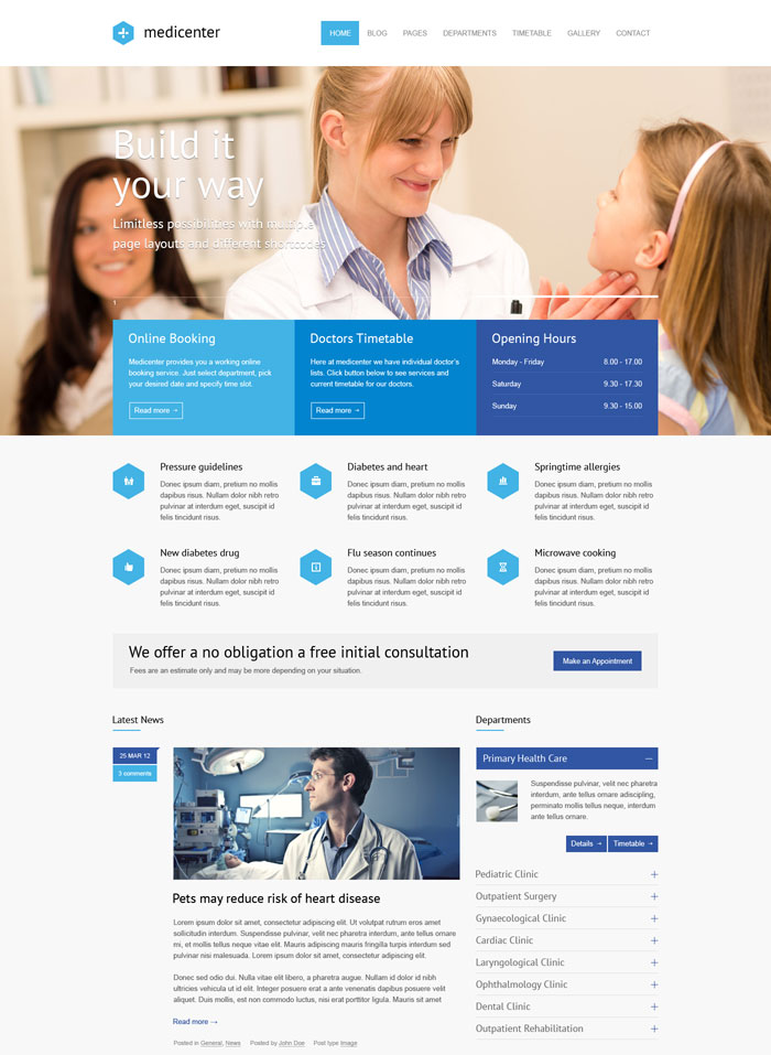 Free Health Website Templates Choice Image - Template Design Ideas - Medical Newsletter Templates Free