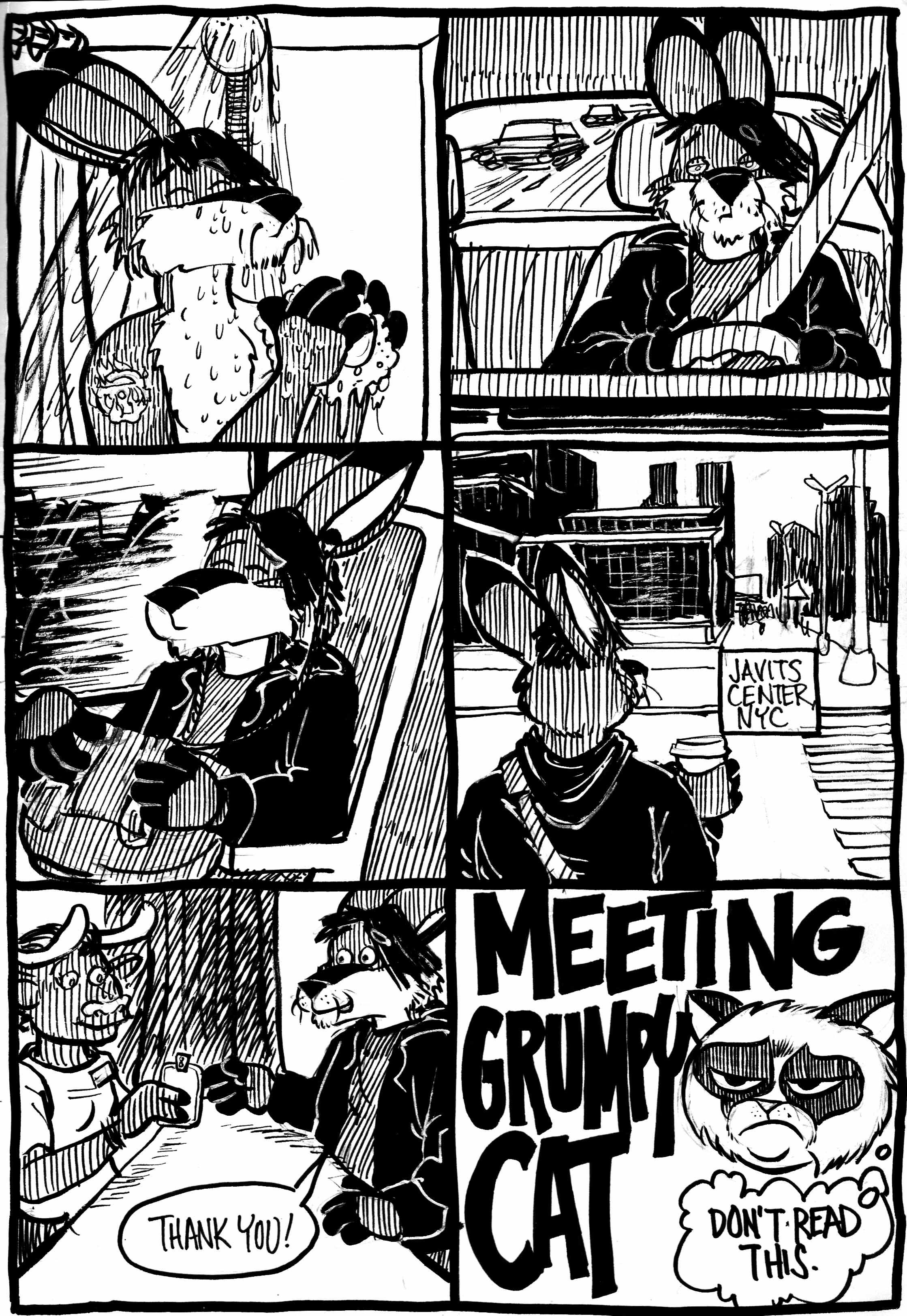 Meeting Grumpy Cat Part 1
