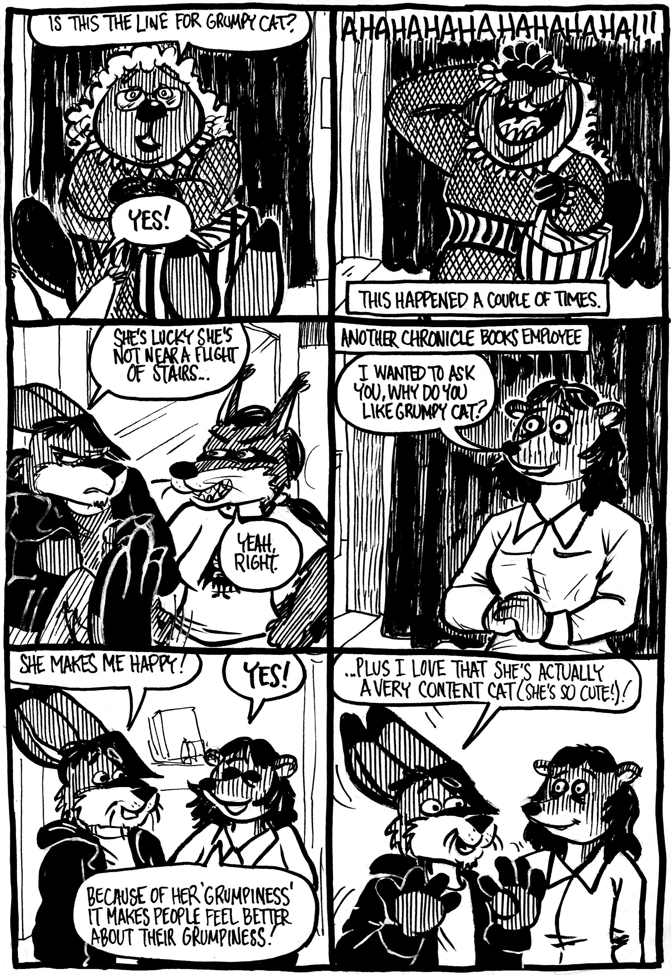 Meeting Grumpy Cat, Part 4