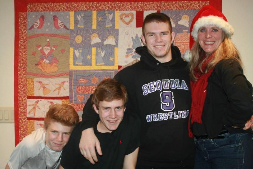 Sonya and her 3 teen boys