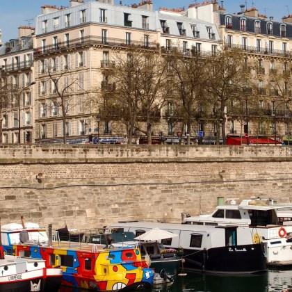 Paris in 4 Days - Port de L'arsenal, Paris