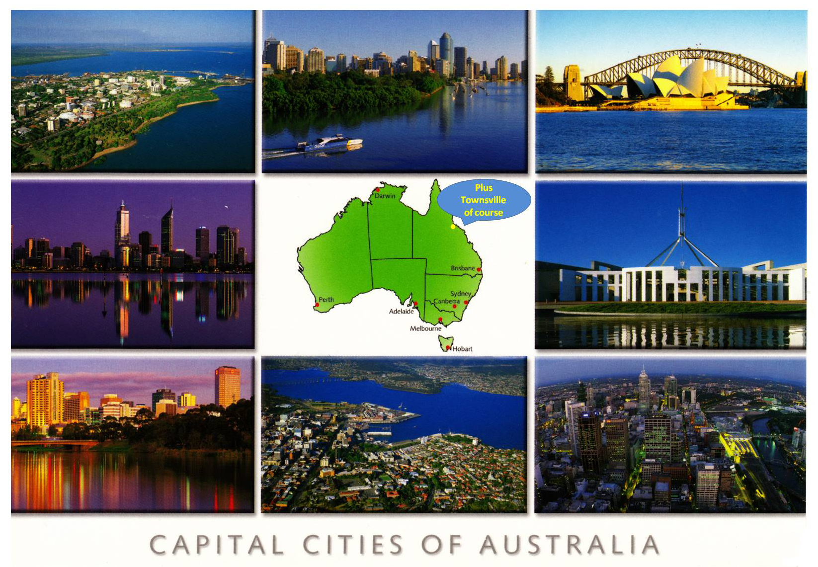 Collage Frames Australia Wont The Real Shady City Please Stand Up Ian Lunt Ecology