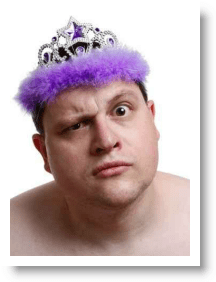 strange man wearing a purple crown1 Top Ten Tips to Create a Twitter Image That Attracts More Business