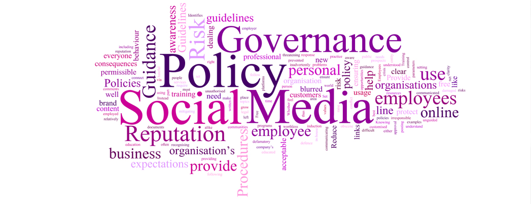 social media policies governance How journalist should NOT use social media