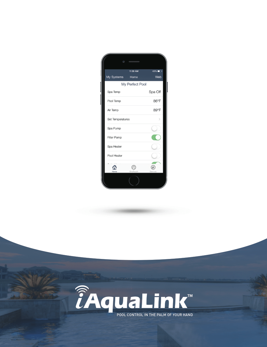 Jacuzzi Pool Manual Iaqualink 2 Support Swimming Pool Automation Mobile Apps By