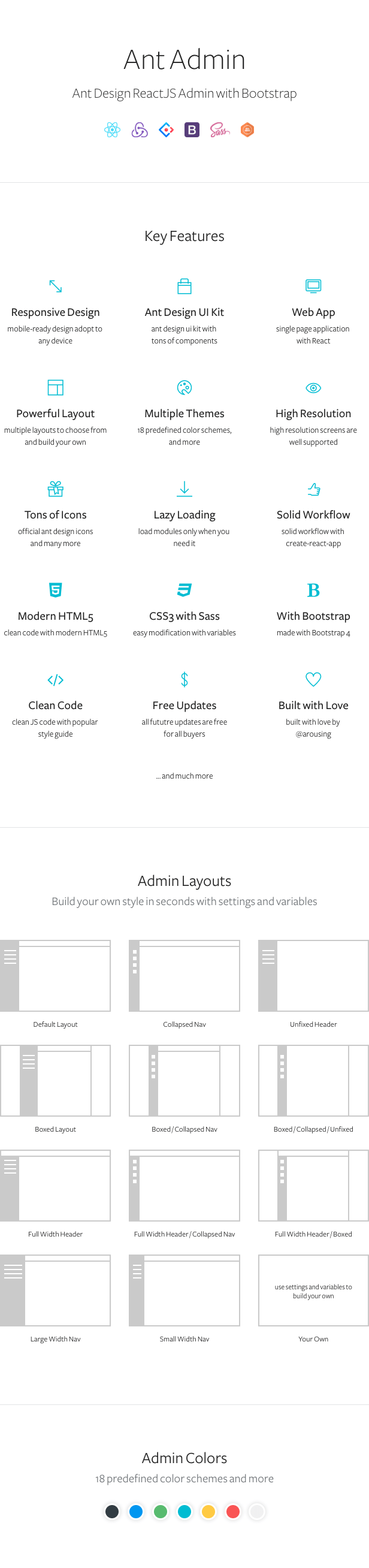 react admin template for resume