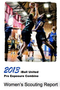 iBall United Women's 2013 Scouting Report