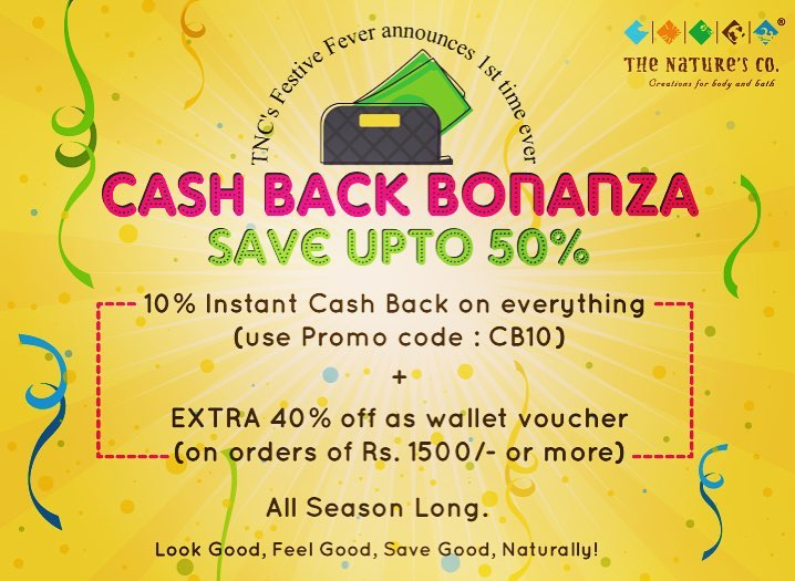 TNC Cashback Bonanza