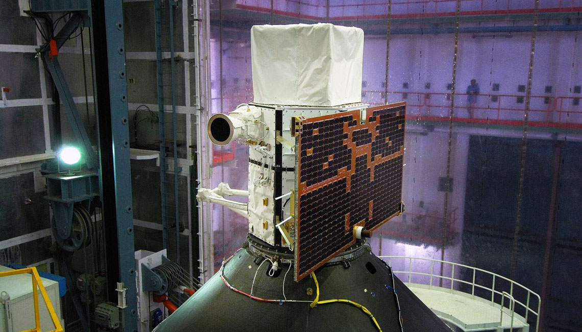 Agile Spacecraft in preparation for launch with IberEspacio Thermal Blankets