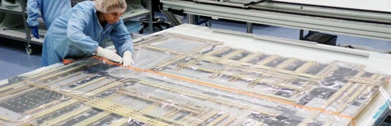 Production of Heat Pipes during phase of superficial integration into thermo structural panels