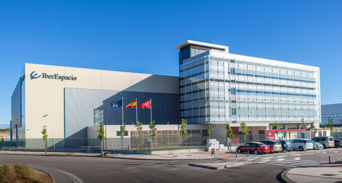 New IberEspacio Facilities at Torrejon de Ardoz inaugurated 19 september 2016