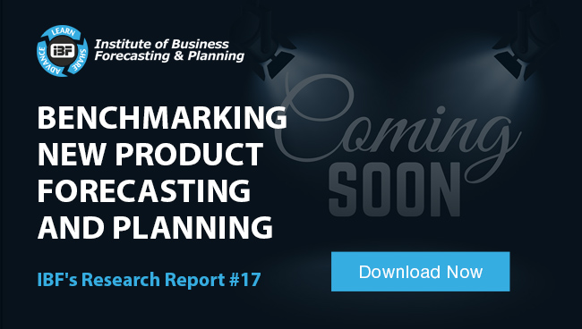 Benchmarking New Product Forecasting and Planning