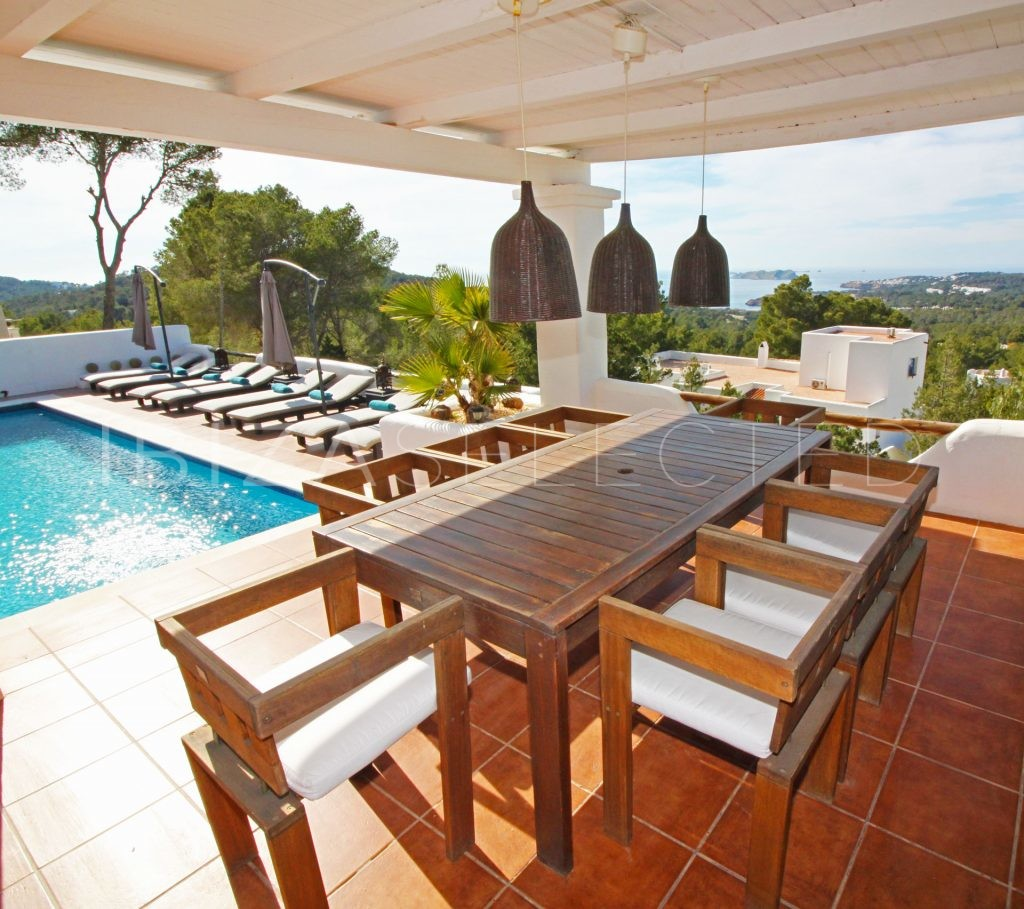 Pool Garten Klein Villa Can Sankisha Ibiza Selected