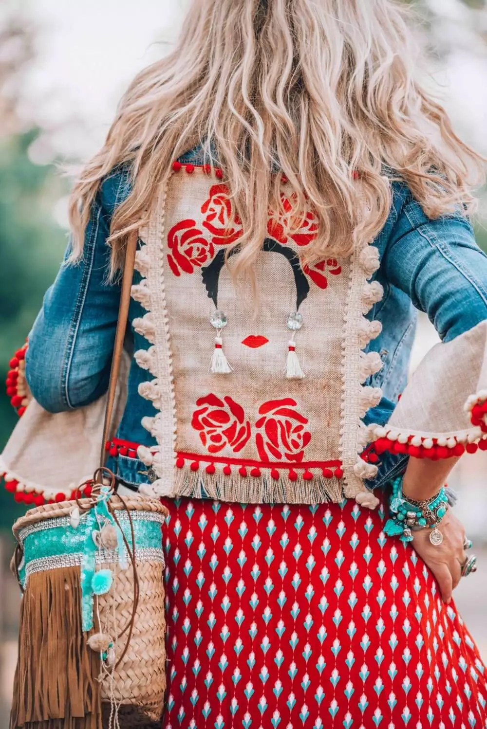 Long Fringe Dress Suede The Ultimate Bohemian Jeans Jacket You Need To Get Your