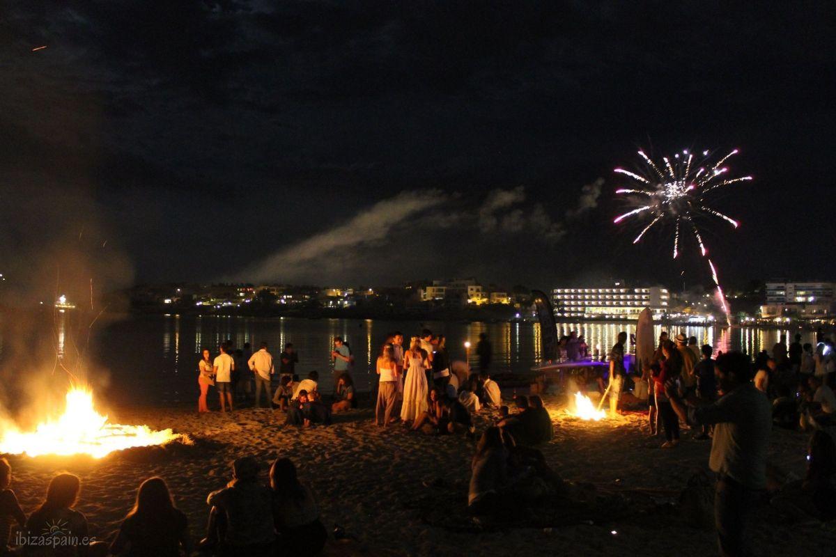 Noche de San Juan en Ibiza