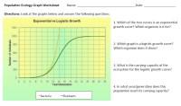 Printable Worksheets  Exponential Growth Worksheets ...