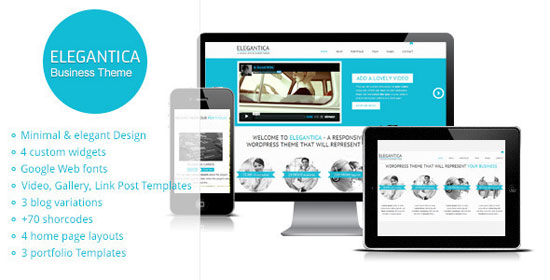 12 Creative Business Website Templates - wordpress resume theme